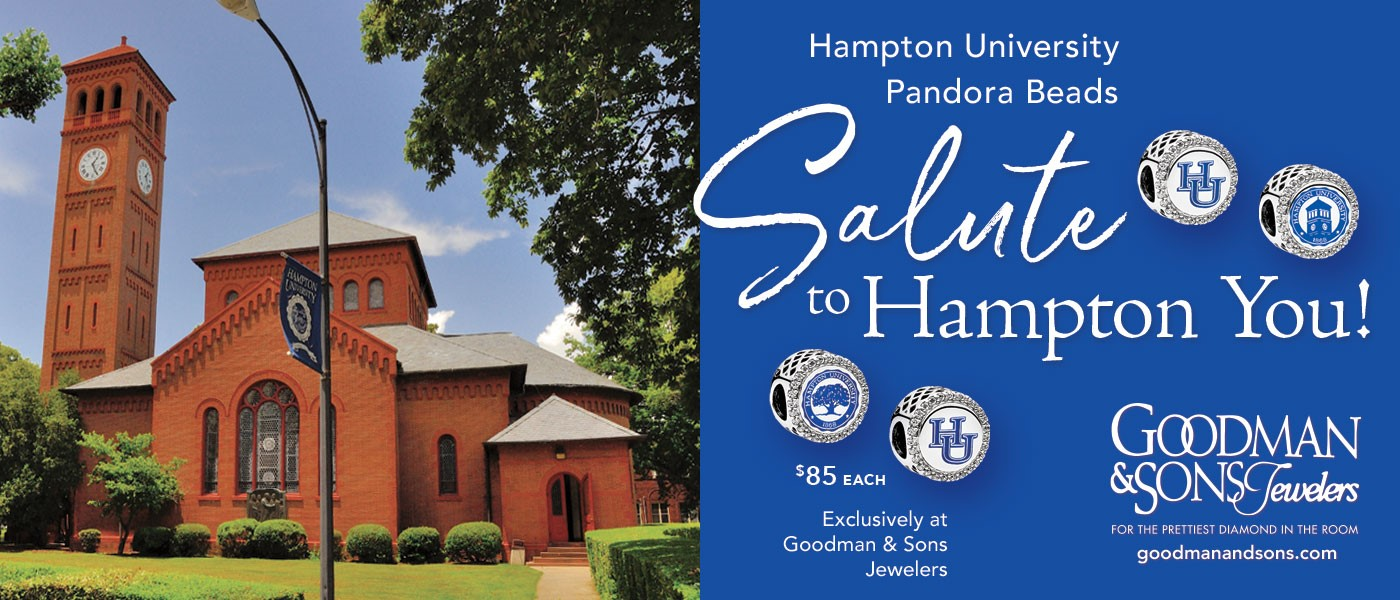 Giving Back! Hampton University Pandora Beads