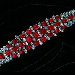 Birthstone Feature: In 1961, Smithsonian Got This 60-Carat Ruby Bracelet From a Secret Donor