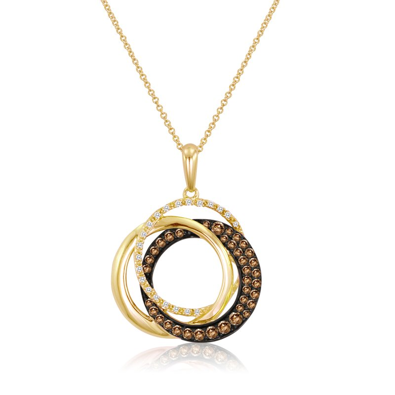 Le Vian Choc And Vanilla Diamond Necklace