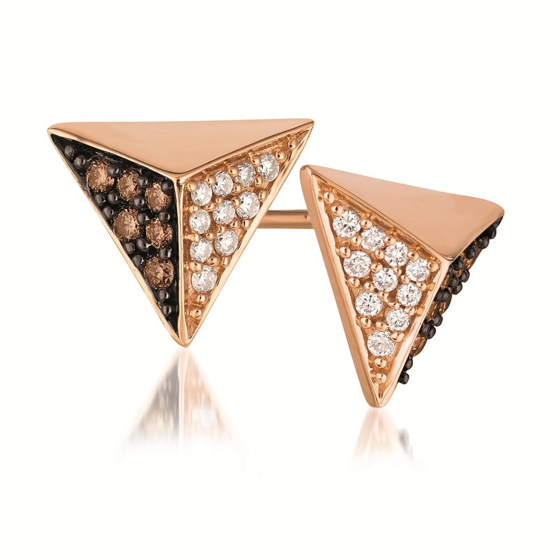 Le Vian Triangle Stud Earrings