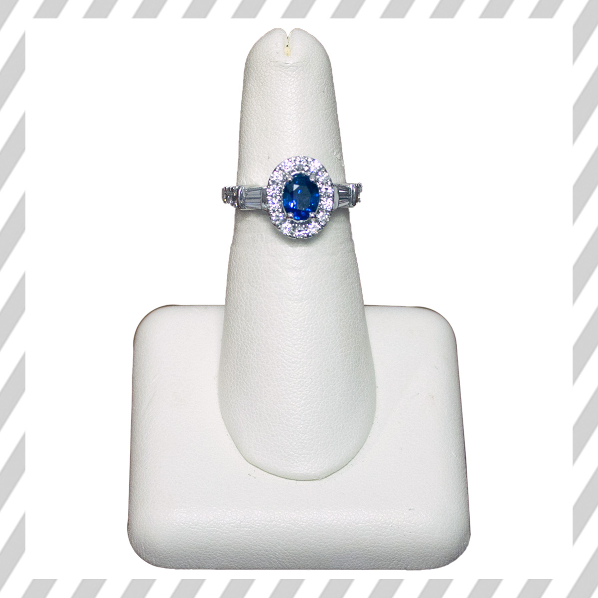 Sapphire Ring After Stripes