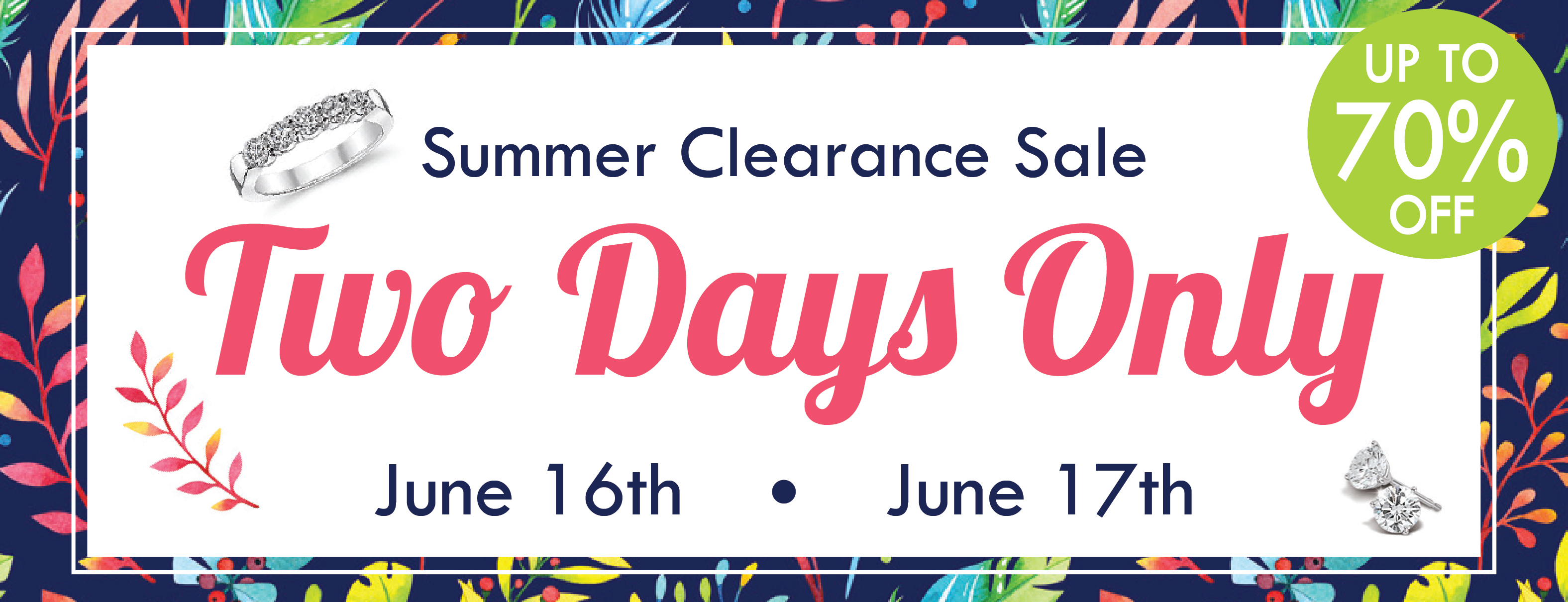 Summer Clearance Sale 01